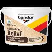Condor Fassadenfarbe Relief - Рельефная краска, 4,85 - 9,70 л., РБ