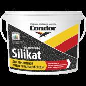 Condor Fassadenfarbe Silikat - Силикатная фасадная краска, белая, 10л, РБ