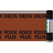 DELTA Foxx PLUS - Диффузионная мембрана для крыш с малым углом наклона, с клеевым слоем, 50*1.5м, рулон 75 м2, Германия