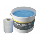 DELTA LIQUIXX - Герметизирующая кровельная паста 2,5 л + армирующая лента 3,0 м2, Германия