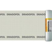 DELTA Dragofol - Гидроизоляционная армированная пленка, размер 50*1.5м, рулон 75 м2, Германия