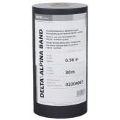 DELTA Alpina Band - Лента для защиты контробрешётки и герметизаци, 30 м x 0,36 м, Германия