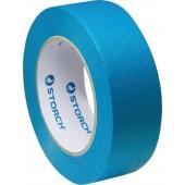 Storch Das Blaue - Малярная лента, синяя, толстослойная, очень прочная, мелкокрепированная, 25 мм*50 м, Германия.
