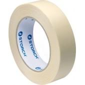 Storch Das Standart Preiswerte - Малярная лента на каучуковом клее, средняя клеющая способность, размер 18-48 мм *50, Германия