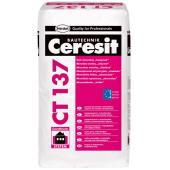"Ceresit CT 137 - Декоративная штукатурка ""Камешковая"" фактура, под окраску или белая, РБ, 25кг"