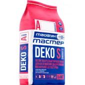 Тайфун Мастер Deko S (Комп А) - Цветной наполнитель для изготовления декоративной мозаичной штукатурки, в ассортименте, 5.4кг, РБ