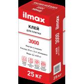 Ilmax 3000 Standardfix - Стандартный клей для приклеивания плитки, для внутренних и наружных работ, 25 кг