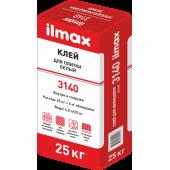 Ilmax 3140 Whitefix - Белый клей для мрамора, камня и мозаики, 25кг, РБ