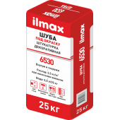 "Ilmax 6530 furcoat - Защитно-отделочная декоративная штукатурка, фактура ""Шуба 1.0, 1.5мм"", Под окраску/Белая, РБ, 25кг"