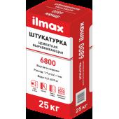 Ilmax 6800 (6800 М) - Выравнивающая цементная штукатурка, от 5 до 20мм, летняя/зимняя, 25кг, РБ