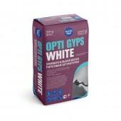 Kiilto Opti Gyps WHITE - Универсальная штукатурная смесь на гипсовой основе светлого цвета, 5-30 кг, РФ