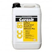 Ceresit CC 81 - Адгезионная добавка, повышающая сцепление, Польша, 10л