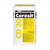 """Ceresit CD 30 - Минеральное антикоррозионное покрытие и контактная смесь """"2в1"""", 25кг, Польша"""