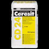 Ceresit CD 24 - Шпатлевка для ремонта бетона, до 5мм, 25кг, Польша