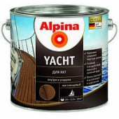 Alpina Yacht - Лак для яхт, 0.75-10 л, Германия