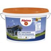 Alpina Долговечная для деревянных фасадов B.1 - Тонкослойная краска по дереву, для внутренних и наружных работ, белая, Германия, 2.5-10л