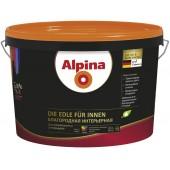 Alpina Благородная интерьерная B. 1 - Шелковисто-матовая краска, белая, РБ, 2.5-10л