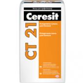 Ceresit CT 21 - Кладочная смесь для блоков, 25кг, РБ