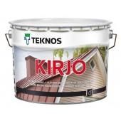 Teknos Kirjo B.1 - Краска для листовой стали, кровли, Финляндия, 0,9-9 л.