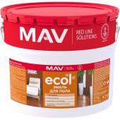 MAV Ecol - Эмаль для пола органорастворимая,10 л, РБ