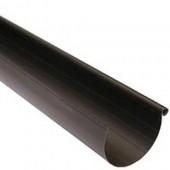 Желоб водосточный SCALA PLASTICS (ПВХ), L=4 м, d=135 мм, шт