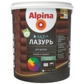 Alpina Аква Лазурь для дерева - лазурь для древесины, 0.9 - 10 л., РБ