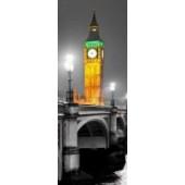 GreenBerry декоративное панно, 004 (Ночной Лондон), размер 103 * 270 см, 1 л.