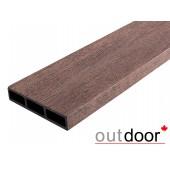 Outdoor доска универсальная ДПК размер в ассортименте, коричневая