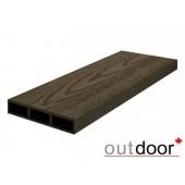 Outdoor доска заборная ДПК размер в ассортименте, текстура дерево