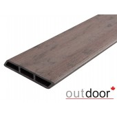 Outdoor доска заборная Ромбус ДПК размер в ассортименте, коричневая