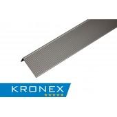 KRONEX угол завершающий алюминиевый
