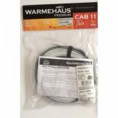 Нагревательный кабель Warmehaus CAB 11W Thin (10,0 м.п./ 112 Вт), шт