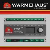 Терморегулятор WARMEHAUS ETO-2 3х16 (две зоны контроля), шт, Германия